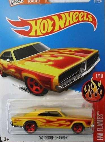 Hotwheels '69 Dodge Charger #91 2016