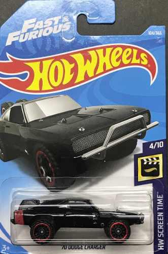 Hotwheels '70 Dodge Charger #104 2018