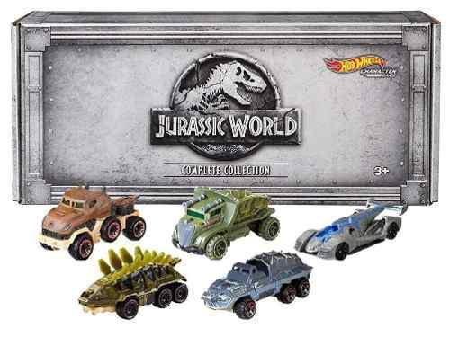 Hotwheels Dinosaurios Nuevo 5 Piezas