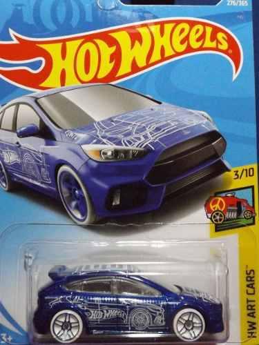 Hotwheels Ford Focus Rs #276 2018