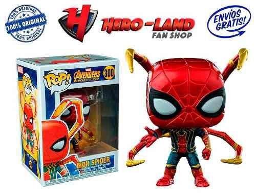 Iron Spider Man Exclusivo Funko Pop Avengers Infinity Patas