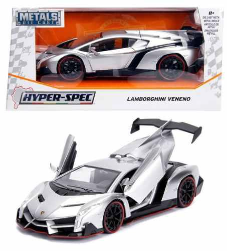 Lamborghini Veneno Hyper Spec 1:24 Jada Plata Oferta !!