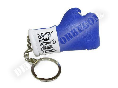 Llavero Minatura Guante Cleto Reyes Color Azul (1 Pieza)