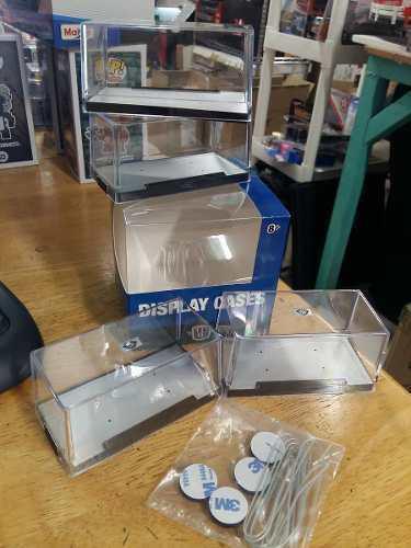 M2 Display Cases Caja De Acrilico 4 Piezas Para Escala 1:64