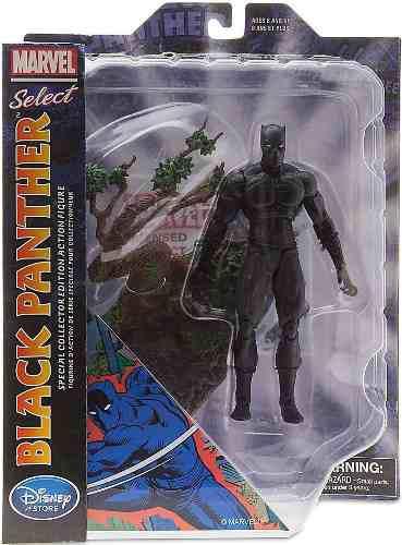 Marvel Select Exclusivo De Disney Store Black Panther Oferta