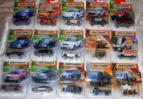 Matchbox 5 Pzas 2018 Vw Mercedes Camiones Policía Nuevos