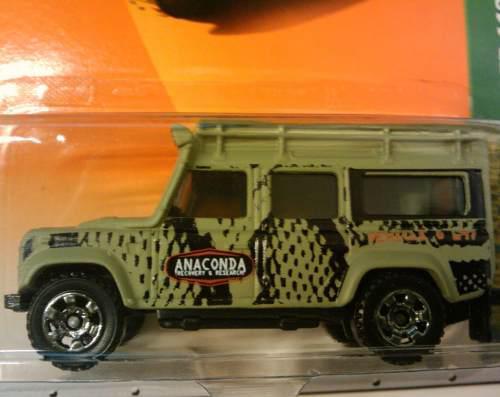 Matchbox Land Rover Defender 110 Anaconda 2009