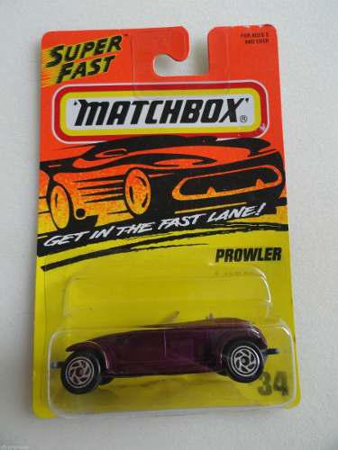 Matchbox Plymouth Prowler #34 1995