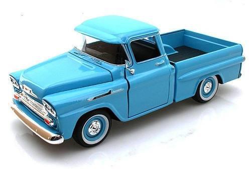 Motor Max 1:24 1958 Chevy Apache Fleetside Venta Display