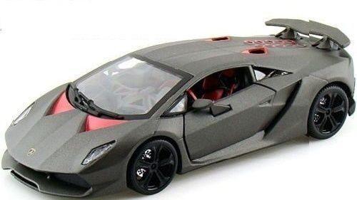 Motor Max 1:24 W/b Lamborghini Sesto Elemento Spyder Carbon