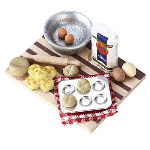 Nuolux 1:12 Casa De Muñecas En Miniatura Cocina Mini