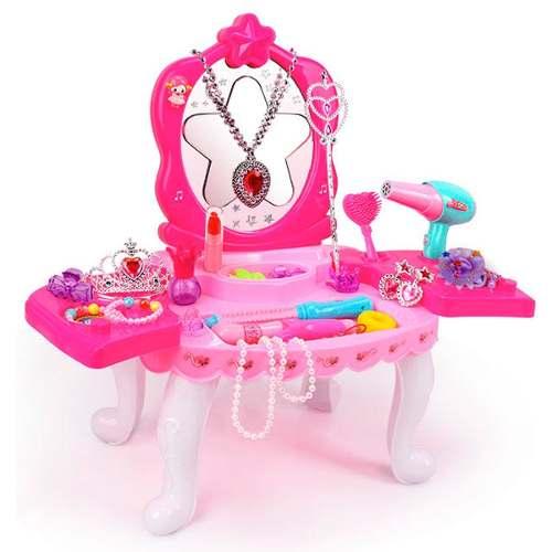 Pk Tocador Princesas Espejo Juguetes Baratos Niñas 01d-1