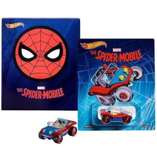 Sdcc 2017 Hot Wheels Spider Mobile Spider Man Buggy Mattel