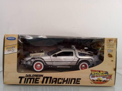 Volver Al Futuro 3 Delorean Time Machine 1/24 Welly