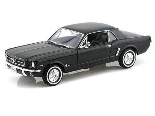 Welly 1:24 W/b 1964 1/2 Ford Mustang Hard Top Negro