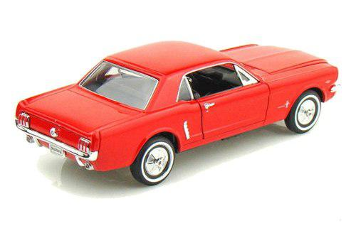 Welly 1:24 W/b 1964 1/2 Ford Mustang Hard Top Rojo