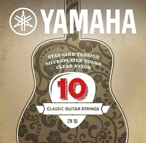 Yamaha Cn10 Juego De Cuerdas De Nylon Para Guitarra Acústic