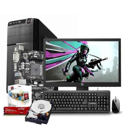 Computadora Pc Cpu Gamer Amd A4 4000 500gb 8gb Radeon Hd