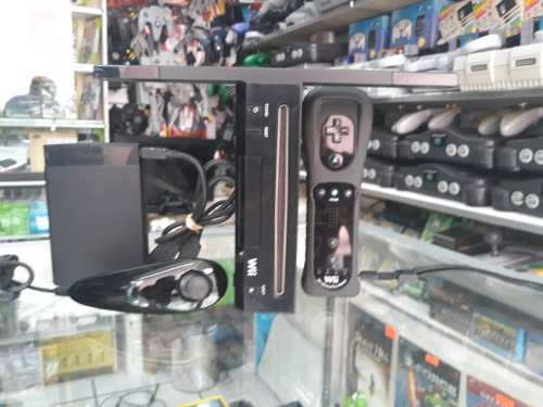 Nintendo Wii Negro Con Disco Duro De 320 Gb (110 Juegos)