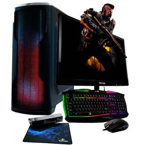 Pc Gamer A10 Quad Core Radeon 8gb 500gb Led 19.5