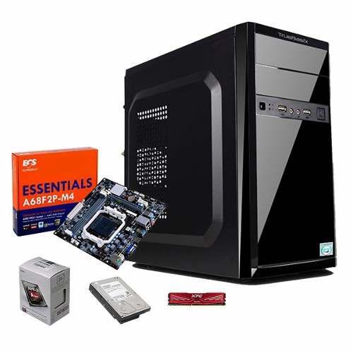 Pc Gamer Barata Cpu Amd A4 6300 3.7ghz 4gb 160gb Hdmi Radeon