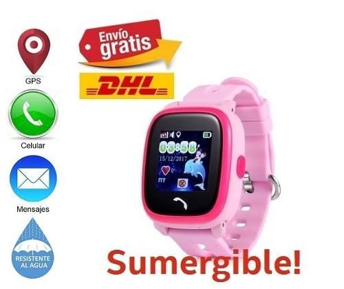 Reloj Gps Smart Watch Celular Para Niño Contra Agua
