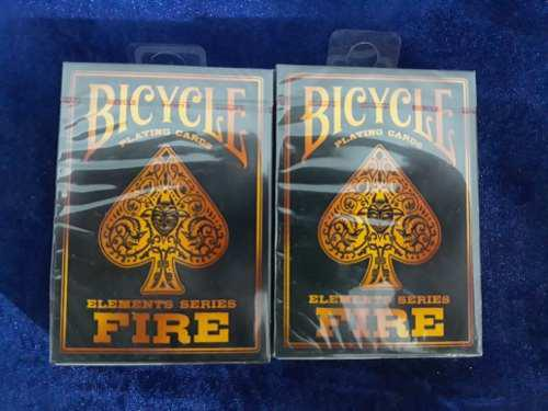 2 Pack De Barajas Bicycle Fire Elements Con Envio Por Dhl