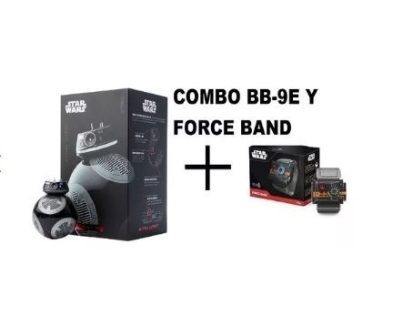 Bb-9e Robot Droide Sphero Star Wars Y Force Band Original