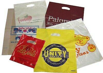 Bolsas de plástico y celofán con publicidad