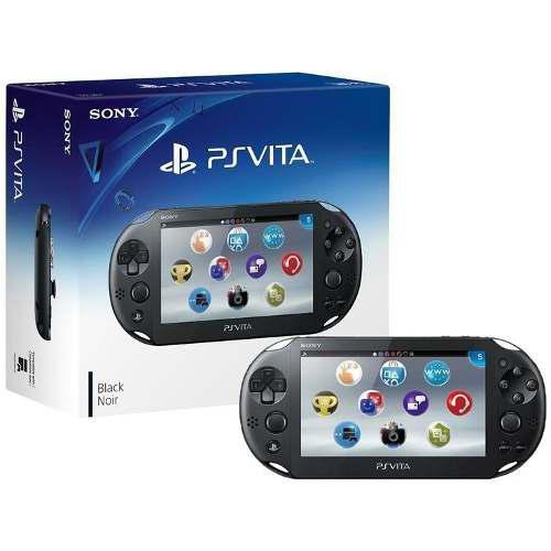 Consola Ps Vita Wifi Slim Negro Azul Roja Sellada A 12msi