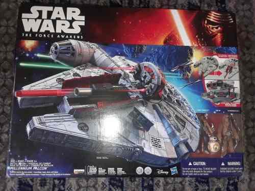 Halcon Milenario Bb8, Finn Star Wars Ep7 Force Awakens Avv 2