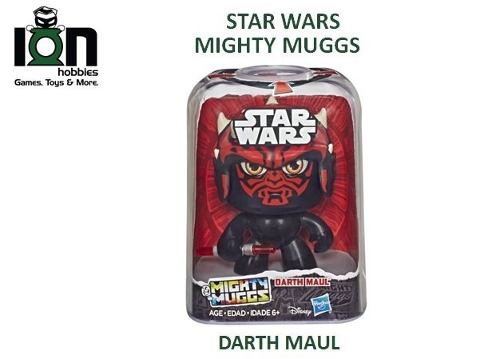 Ion Hobbies: Star Wars Mighty Muggs, Darth Maul