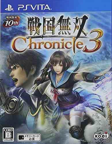 Juegossengoku Musou 3 Crónica 3 Ps Vita Regular Edition I..