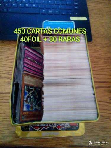 Lata Llena Con 520 Cartas De Yu Gi Oh