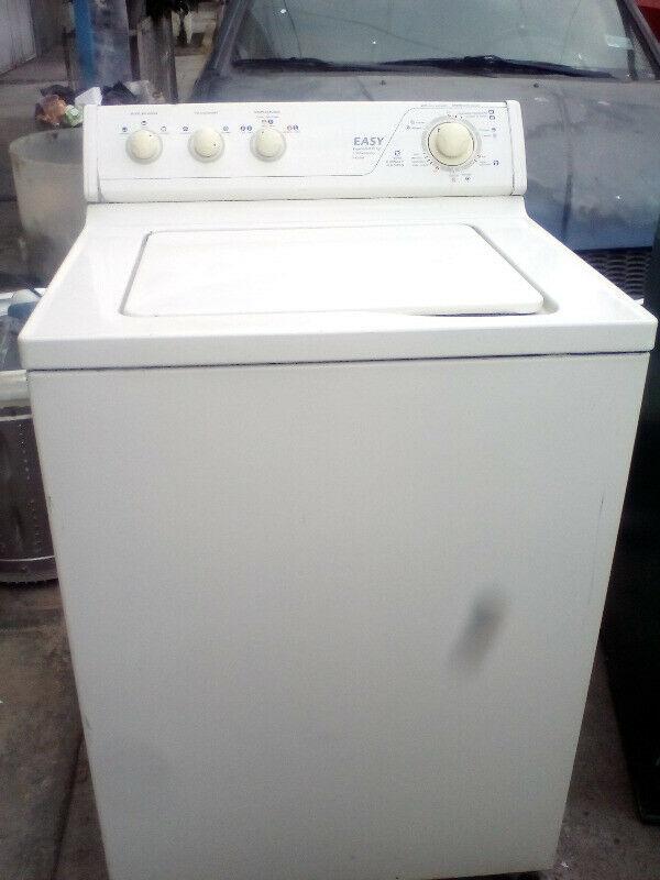 Lavadora EASY Color Beige tina blanca grande 10 kgs En