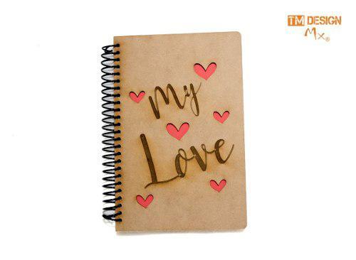 Libreta Regalo Media Carta Amor 14 De Febrero Original