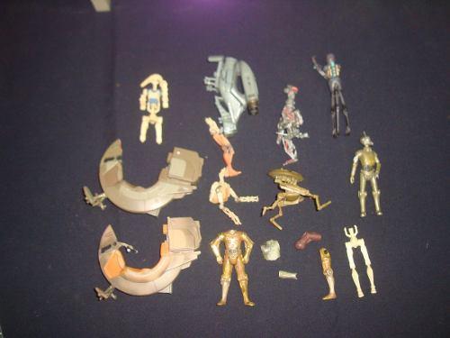 Lote De Droides Star Wars Pedazeria Droides En Partes