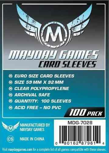 Mayday Micas Euro Standard 59mm X 92mm Pack 100