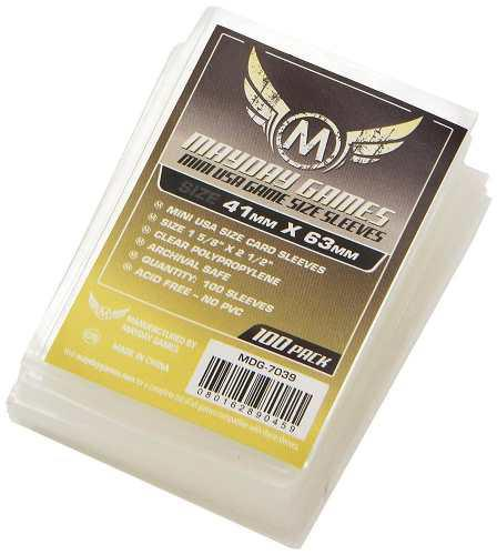Mayday Micas Mini Usa 41x63mm Transparente Pack 100