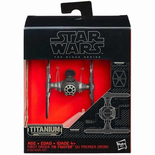 Nave Star Wars Titanium Series #13 First Order Tie Fighter