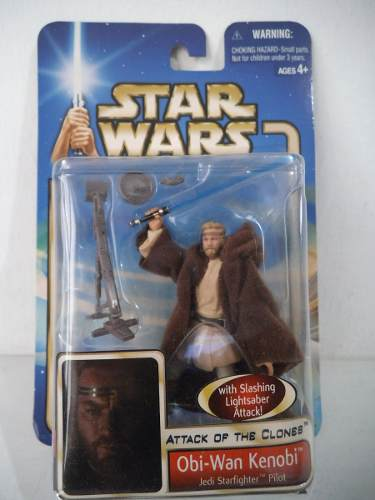 Obi Wan Kenobi Pilot Star Wars Attack Of The Clones Hasbro