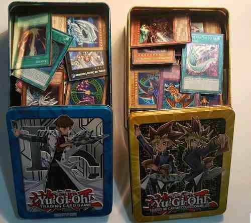 Pack 1000 Cartas Yugioh +tablero+caja O Lata Remate!!
