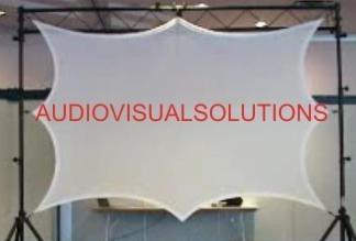 Pantalla Para Proyector Elastica,muy Practica Nuevo Modelo!