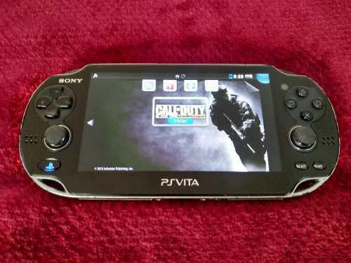 Play Station Vita Con Call Of Duty Y 5 Juegos Mas!!!