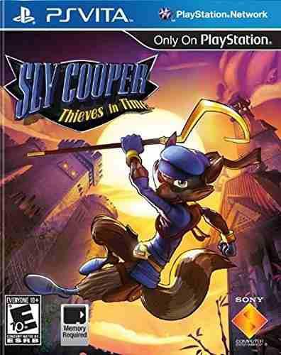 Playstation Vita,sly Cooper Ladrones En El Tiempo - Play..