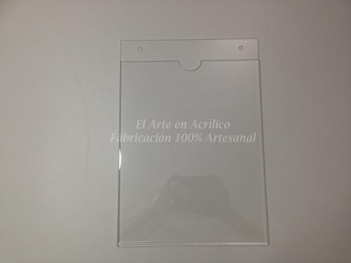 Porta Documentos O Exhibidor De Hoja Tamaño Carta 10 Piezas