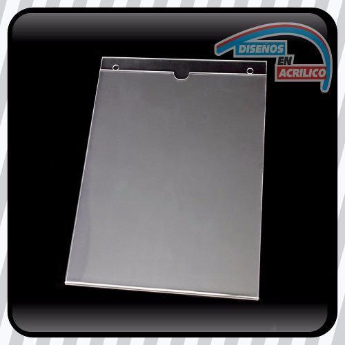 Porta Documentos O Porta Hoja Tamaño Carta En Acrílico 2mm