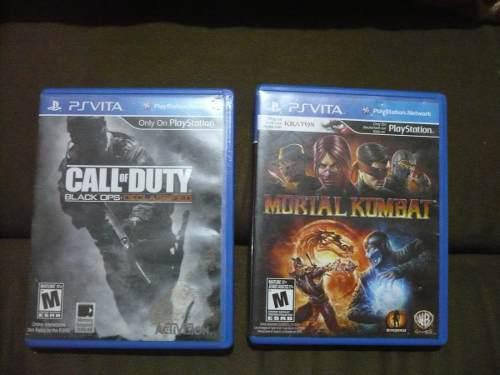 Ps Vita Juego De Call Of Dutyy Mortal Kombat