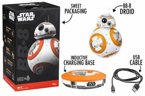 Star Wars Bb-8 Sphero Androide Exclusivo Bluetooth