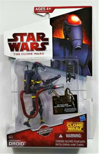 Star Wars Clone Wars Firefighter Droid Cw47 Nuevo Legacyts